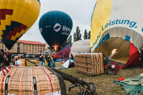 Balónová fiesta Košice